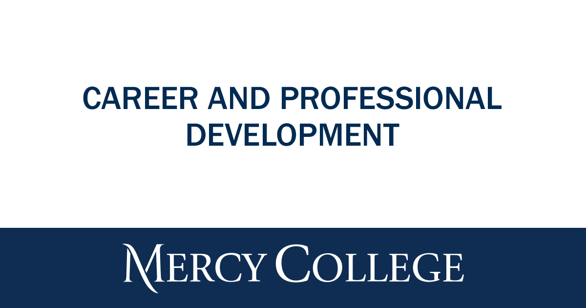 Staff – Career and Professional Development | Mercy College