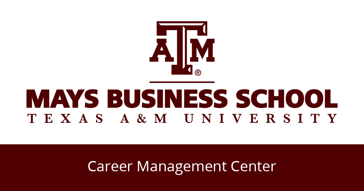 Career management center mays business school malvernweather Image collections