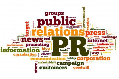 public relations wordle