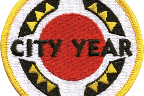 City Year logo – patch