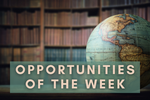 opportunities of the week — gov law ia