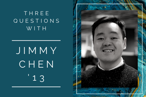 3 questions with … Jimmy Chen