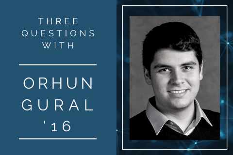 3 questions with … Orhun Gural