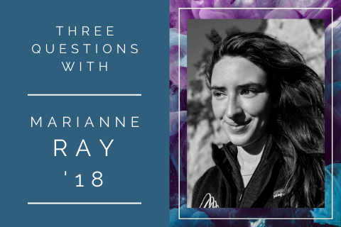 Marianne Ray 3 questions