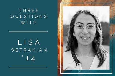 3 questions with … Lisa Setrakian