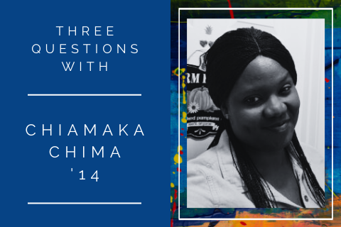 3 questions with Chiamaka Chima