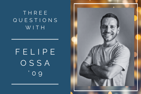 3 questions with Felipe Ossa