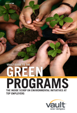 Vault Guide to Green Programs