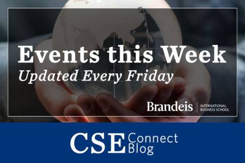 Events this Week, Updated Every Friday