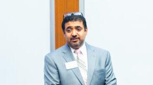 Prof. Debarshi Nandy led Brandeis International Business School's involvement in developing Mass FinTech Hub.