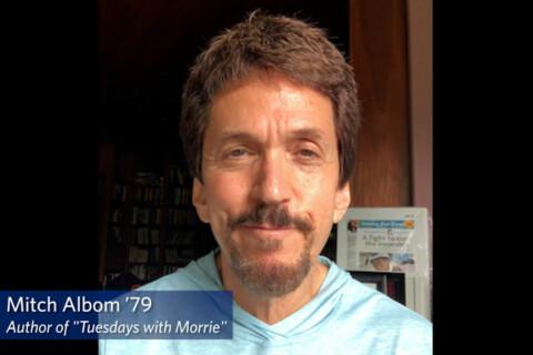 Mitch Albom discusses his mentor relationship