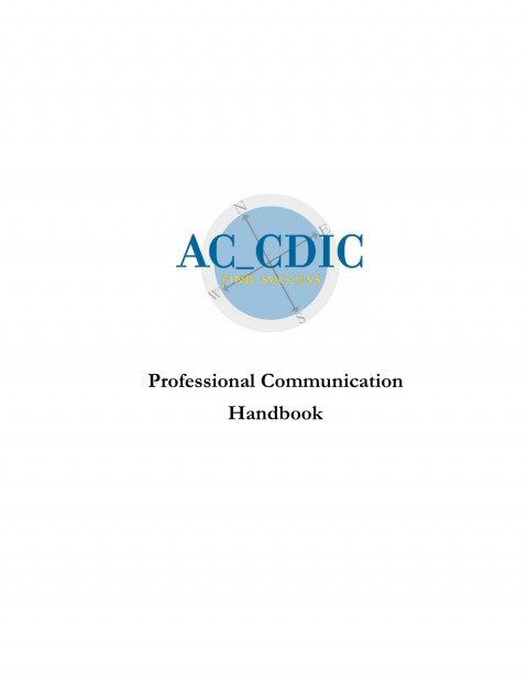 Professional Communication Handbook