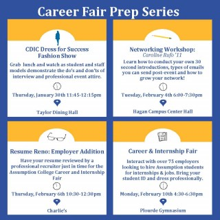 Career Fair Prep Series 2020