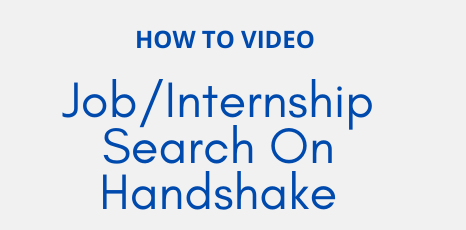 Job_Internship Search On Handshake