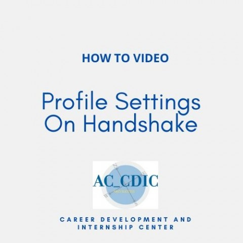 HOW TO VIDEO: Profile Settings On Handshake