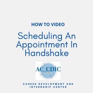 Scheduling An Appointment In Handshake (1)
