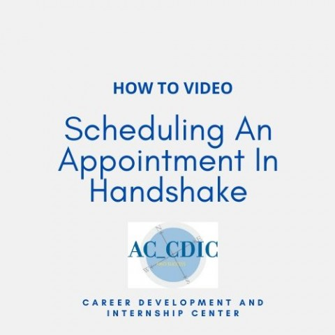 HOW TO VIDEO: Scheduling An Appointment In Handshake