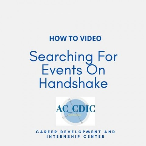 HOW TO VIDEO: Searching For Events On Handshake