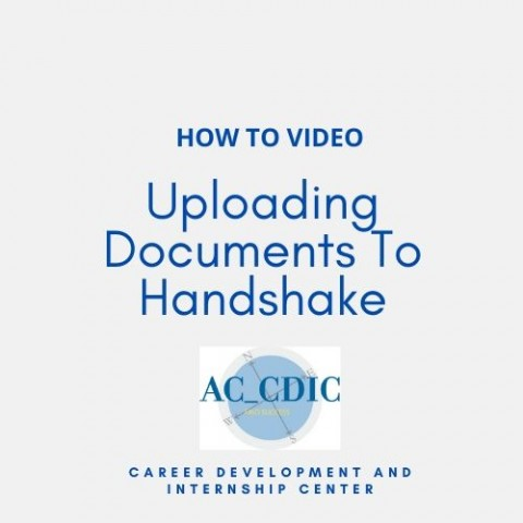 HOW TO VIDEO: Uploading Documents To Handshake