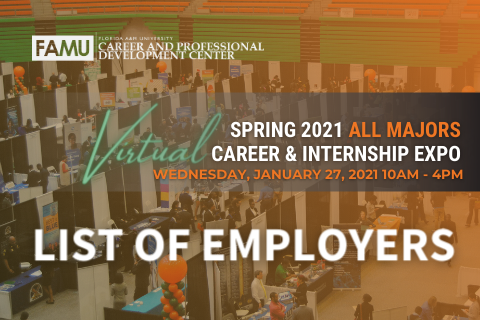 Expo List of Employers for Website