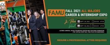 Virtual Fall 2021 All Majors Career & Internship Expo