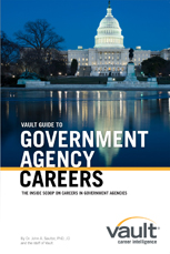 Vault Guide to Government Agency Careers