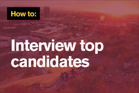 How to interview candidates
