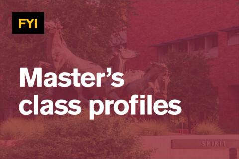 Master's class profiles