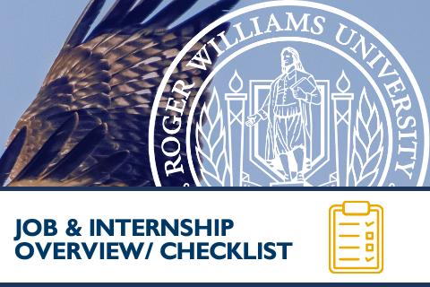 Job & Internship Search Strategies Overview & Checklist