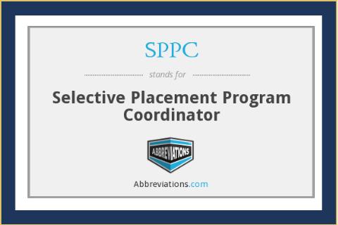 Government Selective Placement Program Coordinators