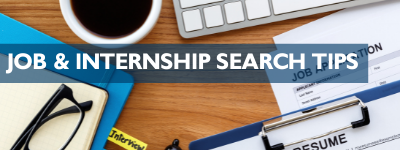 Job/Internship Search Tips for International Students