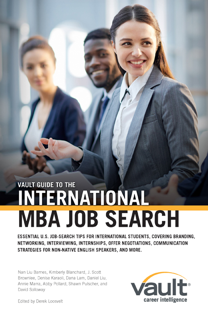 Vault Guide to the International MBA Job Search