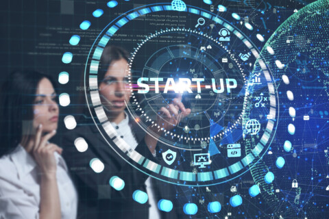 Business, Technology, Internet And Network Concept.  Start-up Fu
