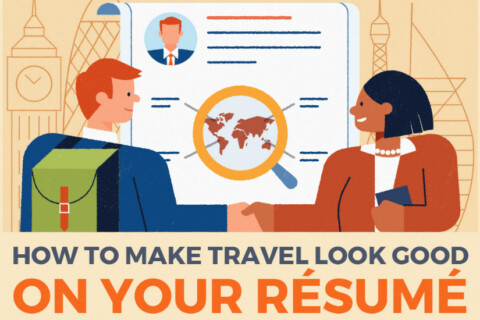 The Best Way to Add Travel to Your Resume thumbnail image