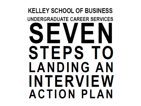 7 Steps to Landing an Interview Action Plan