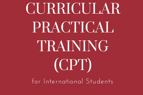Curricular Practical Training (CPT)