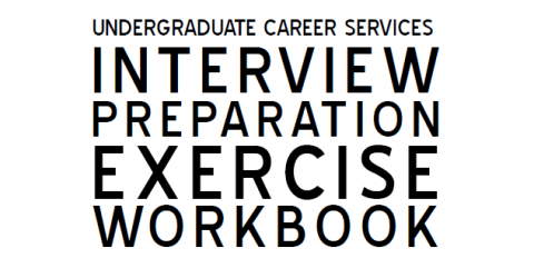 Mock interview preparation exercises