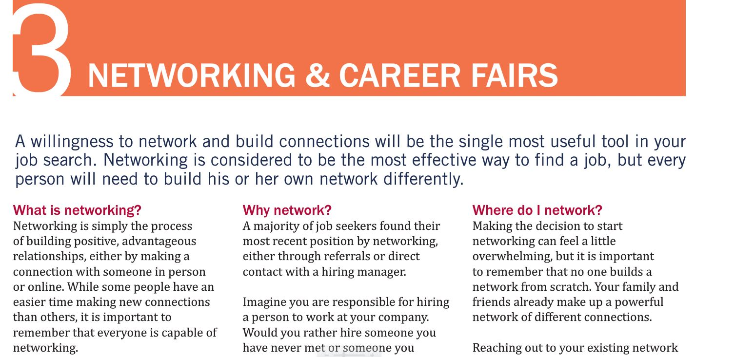 networking for a job