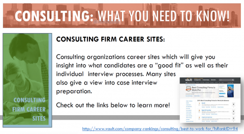 Consulting Firm Career Sites
