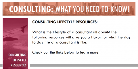 Consulting Lifestyle Resources