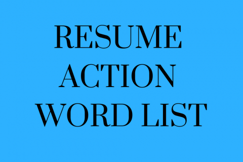 resume action words kelleyconnect kelley school of business