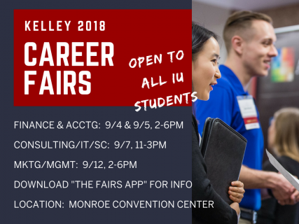 Fall Kelley Career Fairs