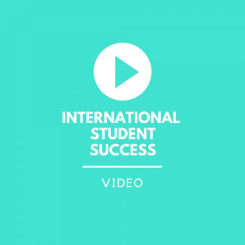 Videos: international student success stories