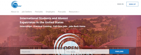 Opentowers.com – Career Search for International Students