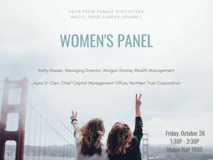 Women S Panel Kelleyconnect Kelley School Of Business