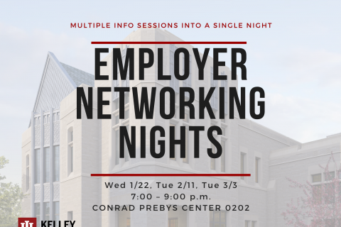 Spring 2020 Employer Networking Night Save the Date
