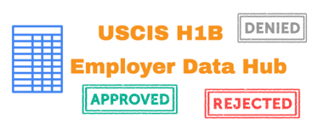 Resource for International Students: USCIS Launches H-1B Employer Data Hub