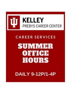 SummerOffice Hours