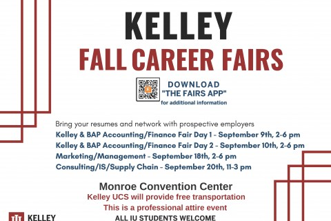 Kelley Career Fair Flyer