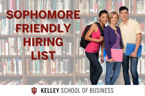 Sophomore Friendly Hiring List